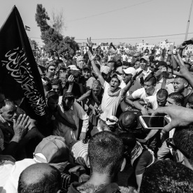 Muhammad is here laid to rest in his grave after being hold for two days by the Israeli authorities for autopsy where was established that he was burned alive